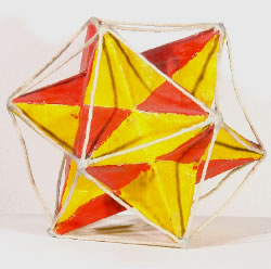 Orange Yellow Star